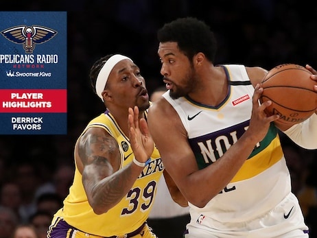 Calls of the Game: Derrick Favors Highlights through Game 64