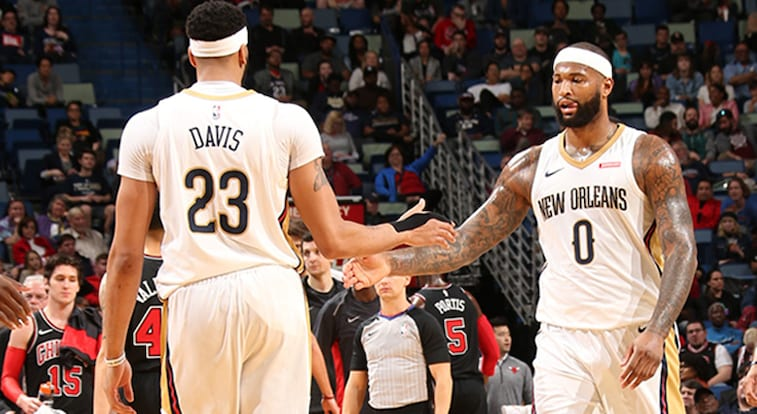 new style 0fca0 8811e Anthony Davis, DeMarcus Cousins both picked by captain ...
