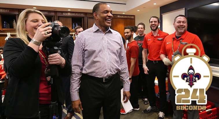 24 Seconds With Pelicans Head Coach Alvin Gentry New