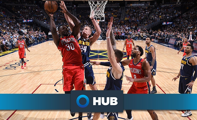 Behind the Numbers presented by HUB International: Nuggets at Pelicans 111718
