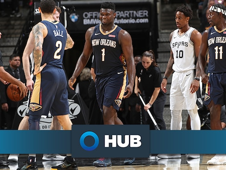 Pelicans shootaround update presented by HUB International: Jrue Holiday discusses 'energy, anticipation, excitement' of Zion debut