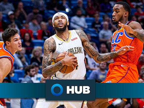 Pelicans shootaround update presented by HUB International: Brandon Ingram unsure if he'll play vs. Thunder