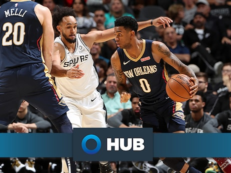 Pelicans shootaround update presented by HUB International: Nickeil Alexander-Walker to debut in hometown