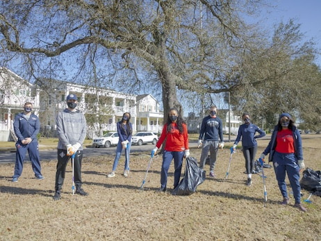 In the Community Photos: Pelicans join MLK Jr. Blvd. beautification effort