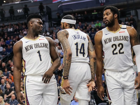 Pelicans at Timberwolves Game Action Photos | 2019-20 Game 64