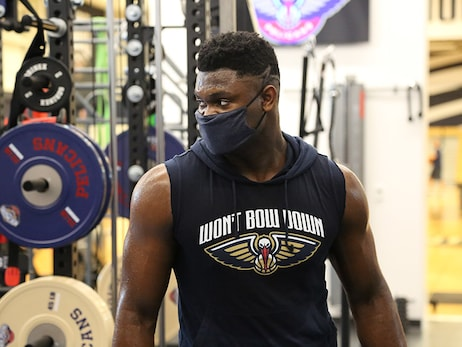 Photos: Pelicans players prepare for Orlando - July 2, 2020