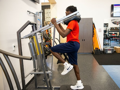 Photos: Inside look at Pelicans workouts