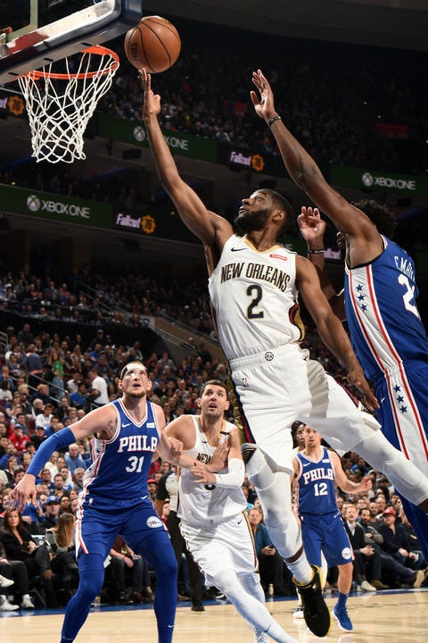 Top 10 Ian Clark Photos from the Pelicans 2018-19 Season