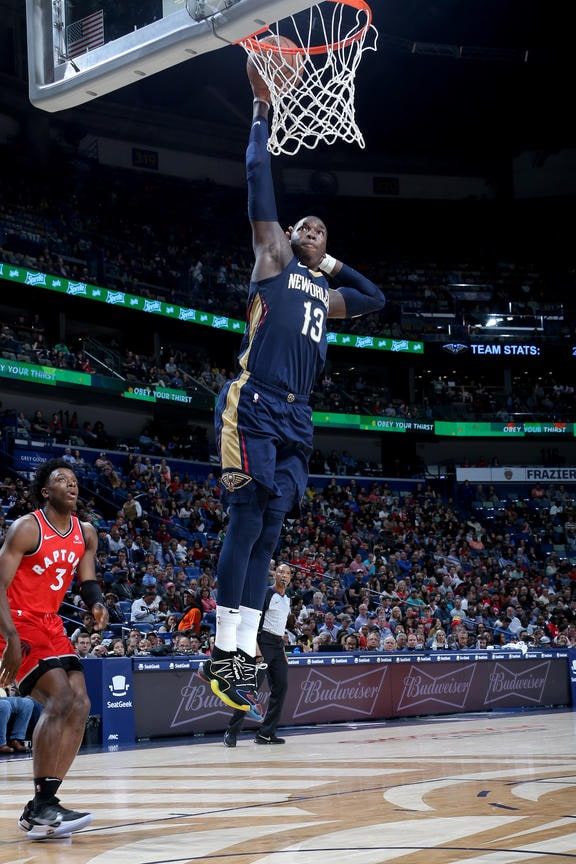 Top 10 Cheick Diallo Photos from the Pelicans 2018-19 Season