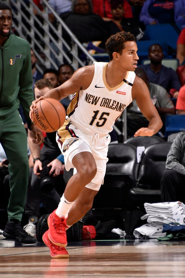 Top 20 Frank Jackson Photos from the Pelicans 2018-19 Season