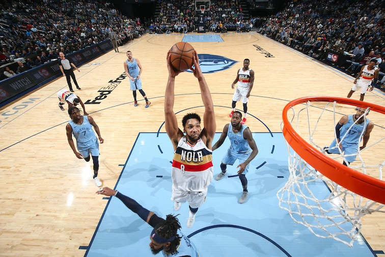 Top 15 Jahlil Okafor Photos from the Pelicans 2018-19 Season