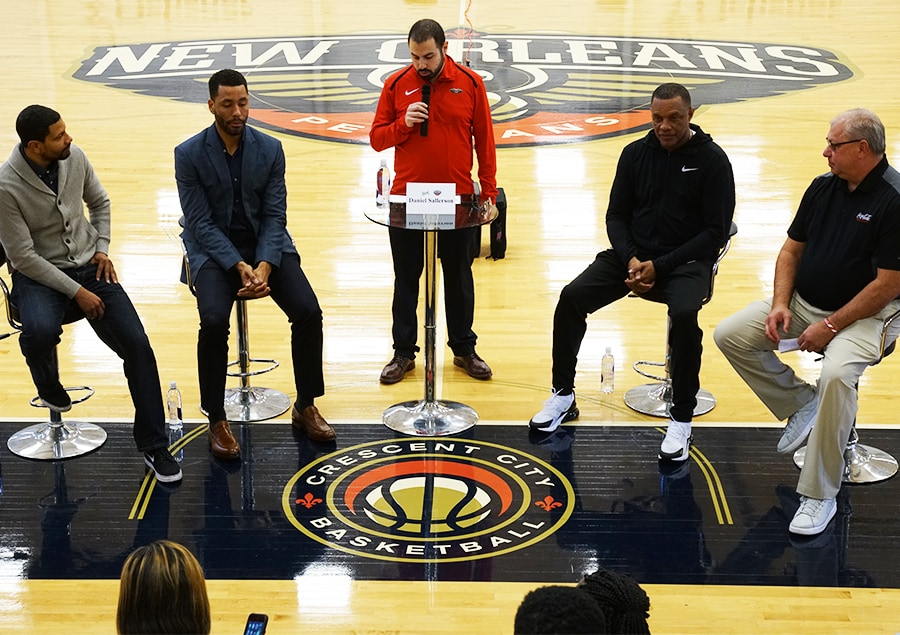 Black History Month Coaches Symposium New Orleans Pelicans