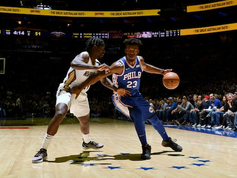 Game 18: Pelicans at 76ers 11/21/18