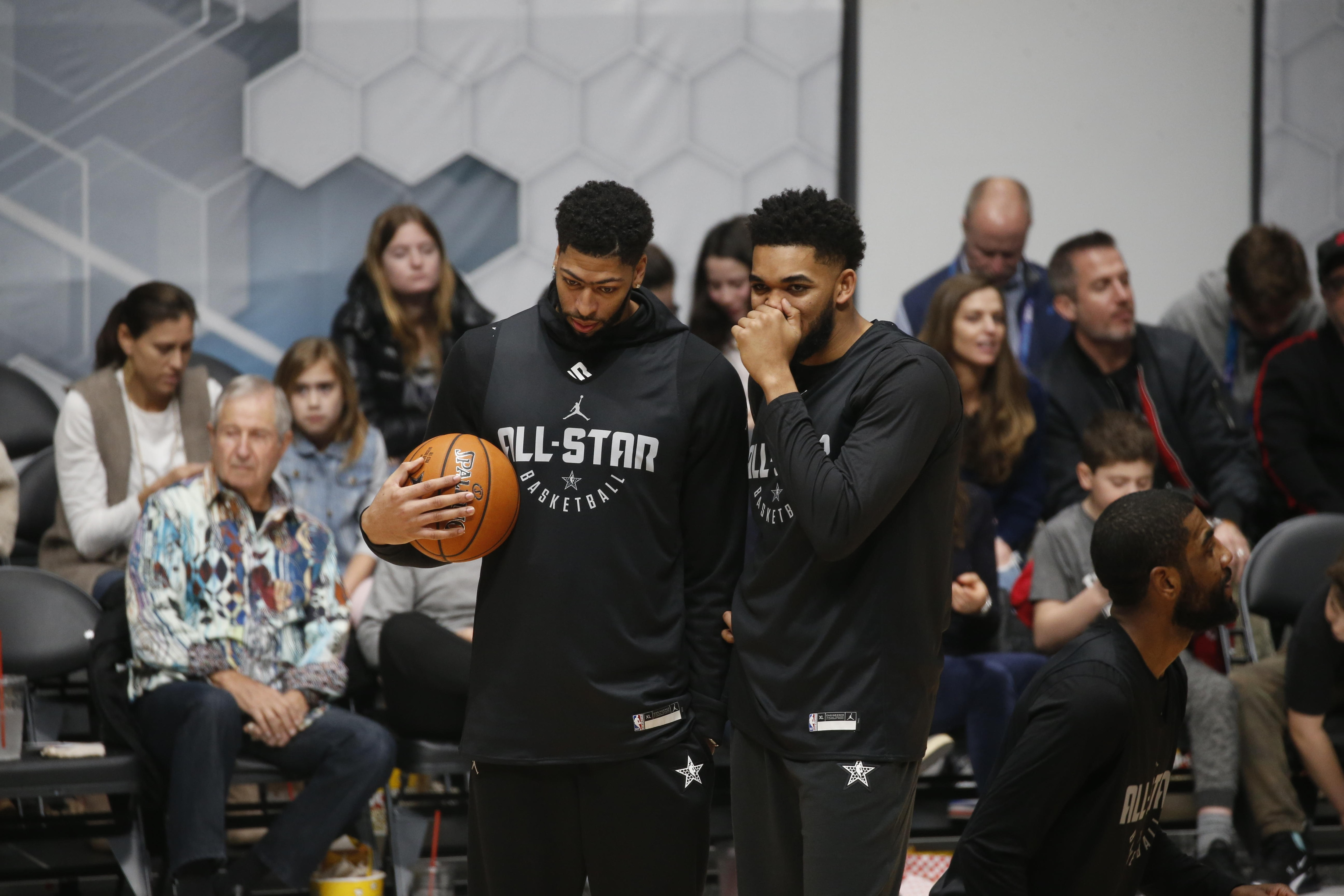 3a816779f4469b NBA All-Star Weekend 2019  Anthony Davis in action