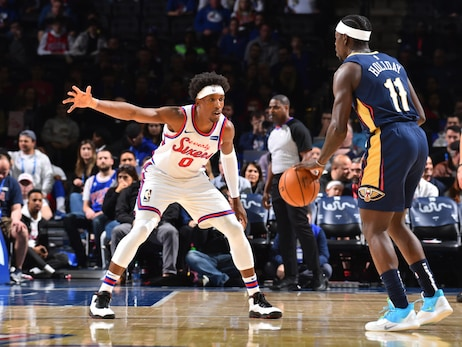 Pelicans at 76ers Game Action Photos | 2019-20 Game 26