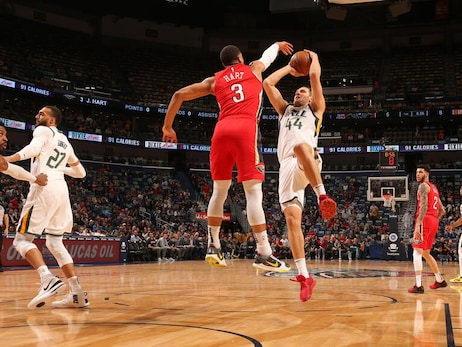 Pelicans vs. Jazz Game Action Photos | 2019-20 Game 42