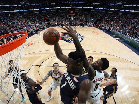 Pelicans vs. Nuggets Game Action Photos | 2019-20 Game 46