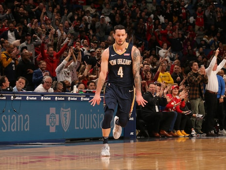 Photos: Birthday buckets with Pelicans JJ Redick
