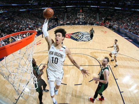 Twitter Q&A with New Orleans Pelicans rookie Jaxson Hayes