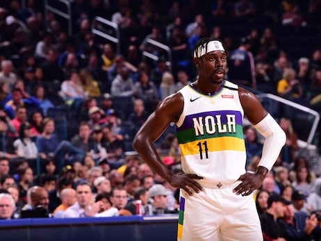 Pelicans at Warriors Game Action Photos | 2019-20 Game 57
