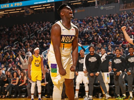 Photos: Birthday buckets with Pelicans Zion Williamson