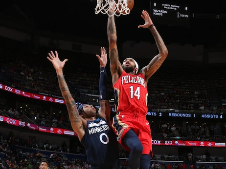 Pelicans vs. Timberwolves Game Action Photos | 2019-20 Game 61