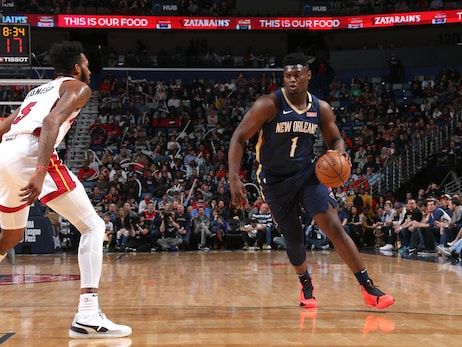 Pelicans vs. Heat Game Action Photos | 2019-20 Game 63