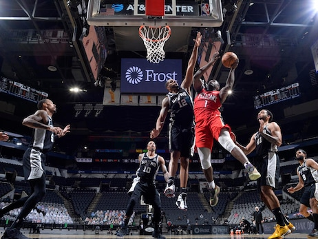 Pelicans at Spurs | COX Game Action Photos 2-27-21