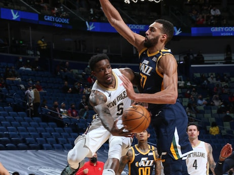Pelicans vs. Jazz | COX Game Action Photos 3-1-21