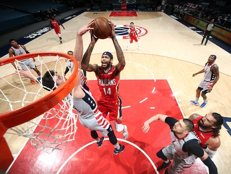 Pelicans at Wizards | COX Game Action Photos 4-16-21