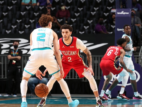 Pelicans at Hornets | COX Game Action Photos 5-9-21