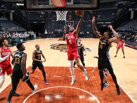 Pelicans at Grizzlies | COX Game Action Photos 5-10-21
