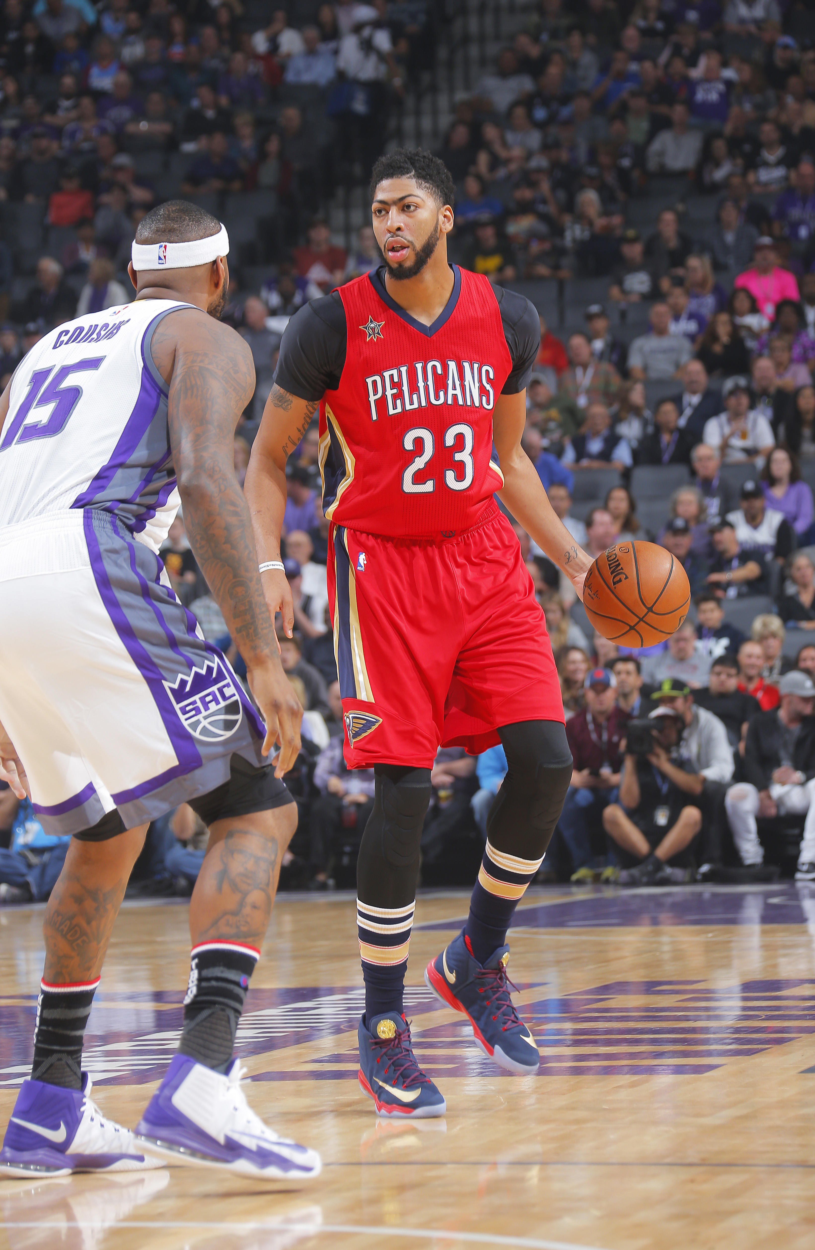 Flashback: DeMarcus and Davis   New Orleans Pelicans