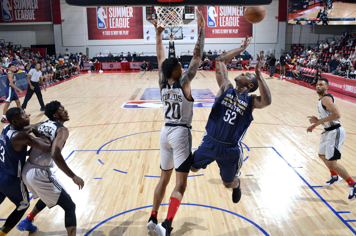 2017 Las Vegas Summer League - Atlanta Hawks v New Orleans Pelicans