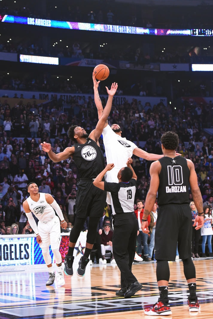 afc7fbf38 NBA All-Star 2018  Anthony Davis in Action