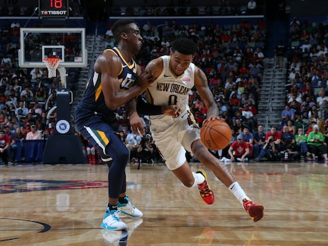 Pelicans Radio interview with Nickeil Alexander-Walker  - Pelicans vs. Jazz,  October 11, 2019