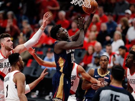 Playoffs Round 1 - Game 2: Pelicans at Trail Blazers 4-17-18