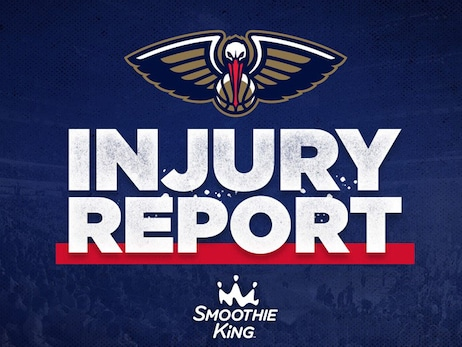 No players on New Orleans injury list ahead of game at San Antonio