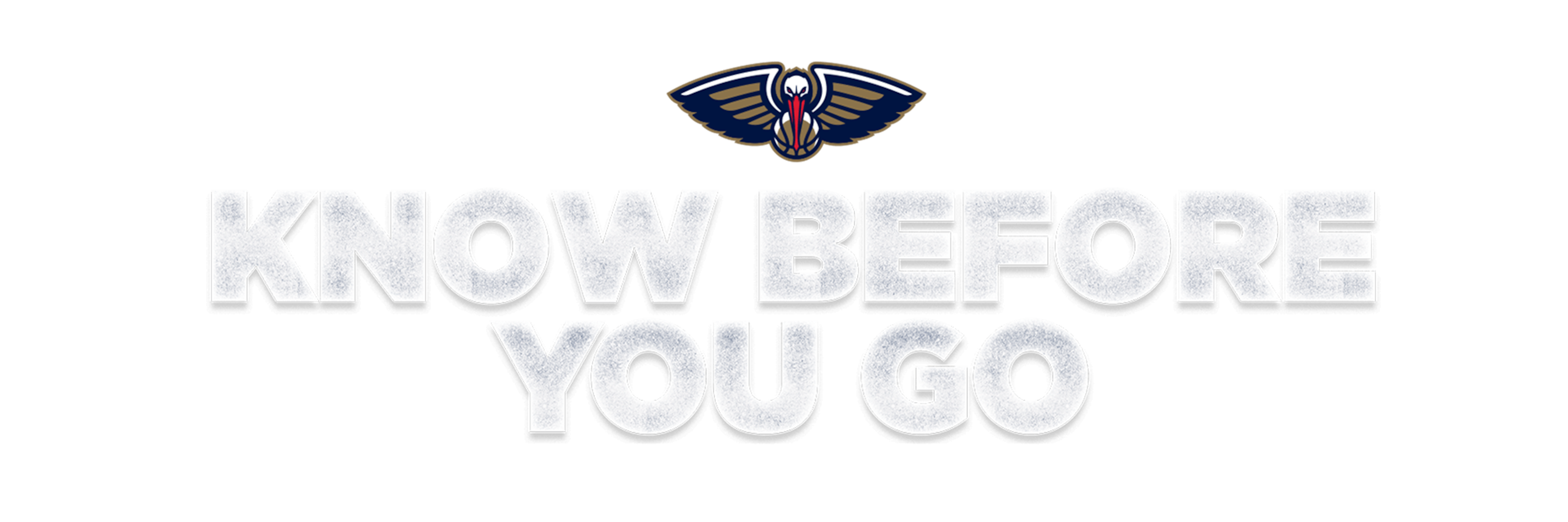 Know Before You Go - New Orleans Pelicans
