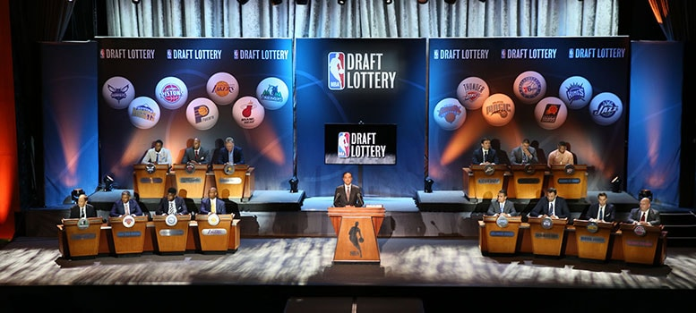 Lottery-podiums