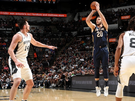 Pelicans Radio postgame interview with Nicolo Melli  - Pelicans vs. Spurs,  October 13, 2019
