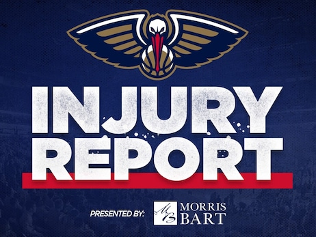 Four Pelicans players questionable, two probable for Wednesday game vs. Spurs