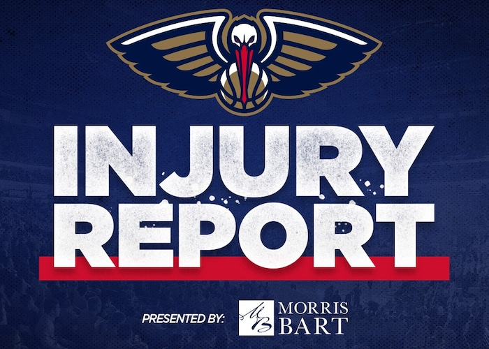 Pelicans Injury Report for Cleveland Cavaliers game