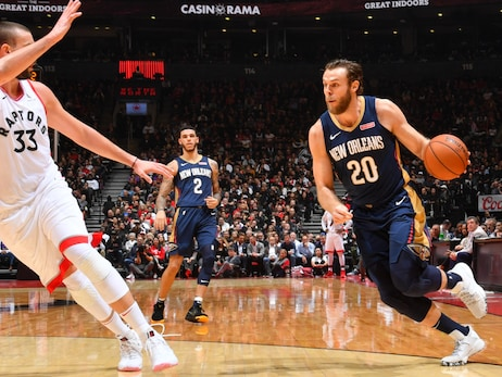 Nicolo Melli provides big spark off Pelicans bench in his NBA debut