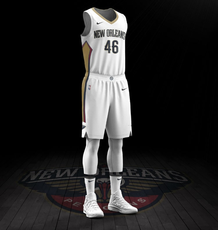 wholesale dealer 9cca7 68634 First Look: New 2017 Pelicans uniforms from Nike | New ...