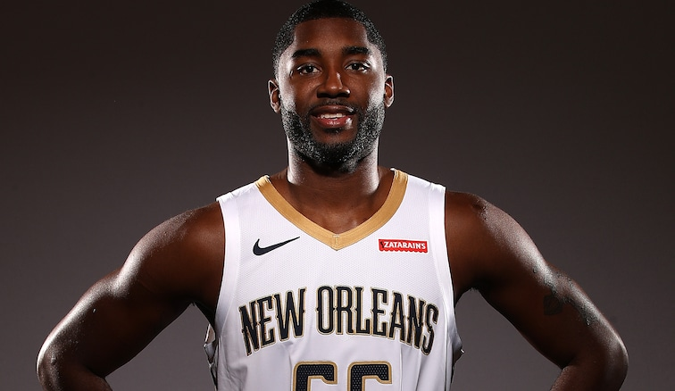 E'Twaun Moore on Media Day