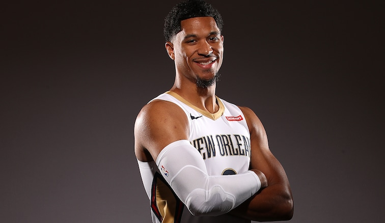 Pelicans guard/forward Josh Hart on Media Day