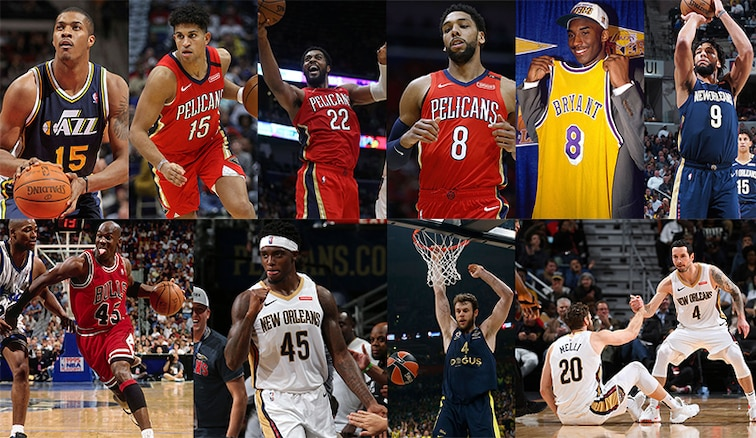 How the New Orleans Pelicans players chose their jersey numbers