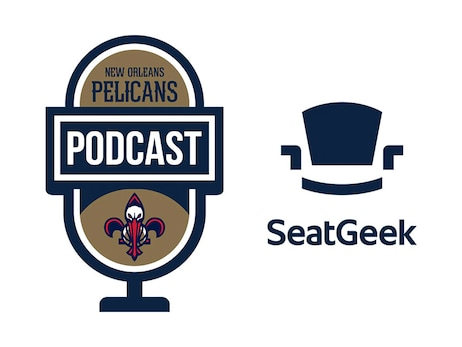 New Orleans Pelicans Podcast Logo