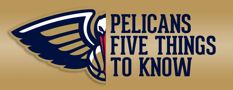 Five things to know about the Pelicans on Feb. 23 2017
